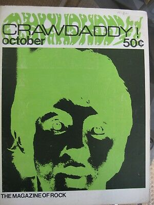 Vintage Crawdaddy Magazines, Numbers 8 and 11, 1967