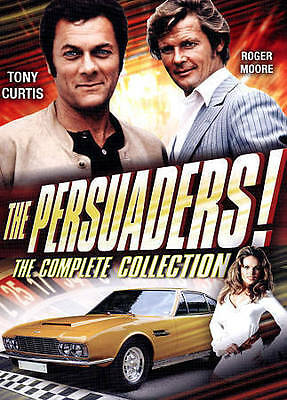 The Persuaders Complete TV Classic Cult Adventure Series ~ 6-DISC DVD SET