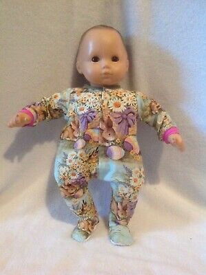"""15"""" Bitty Baby pink bunny Easter spring sleeper pjs pajamas girl Doll Clothes"""