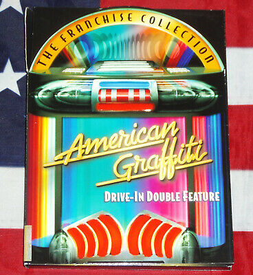 American Graffiti /More Parts 1 2 Double Feature (DVD, 2-Disc Set) George Lucas