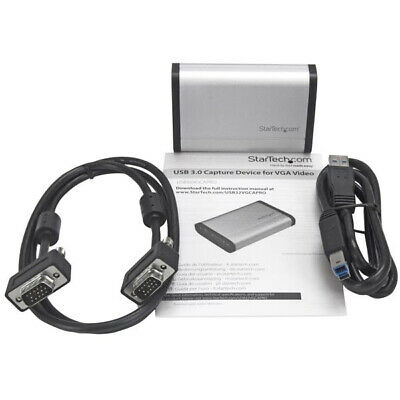 Startech.Com Usb 3.0 Capture Device For High-Performance Vga Video - 1080P 60Fps