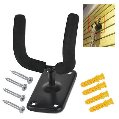 Guitar Stand Wall Hanger Mount Acoustic Bass Holder Display Holder Hooks Bracket
