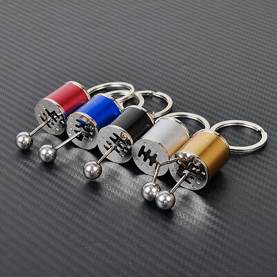 New Car Tuning Parts Gearbox Gearshift Gear Shift Keychain Key Ring Fob Gift