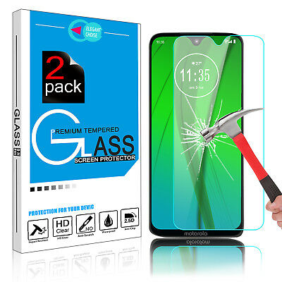 Ultra Clear Cover Tempered Glass Screen Protector For Motorola Moto G7/G7 Plus