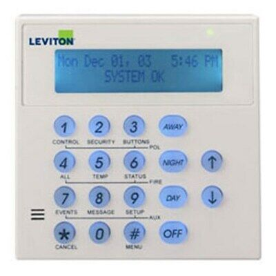 New  Leviton Omni Console Keypad With Inbuilt Speaker & Microphone For Omni