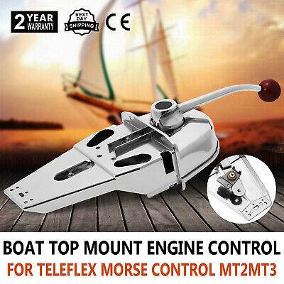 Marine Boat Engine Control Built-In Friction Zinc Alloy Avoid Throttle Creep