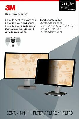 """New  3M Privacy Filter For 23.8"""" Widescreen Monitor PF23.8W9"""