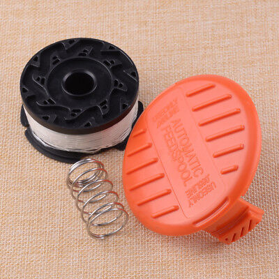 SPOOL CAP AND Spring for Black + Decker Grass Trimmer GH400