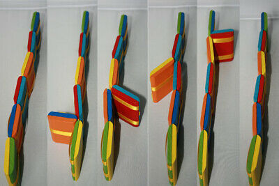 Jacobs Ladder Wooden Fidget Visual Illusion Toy great for Austism