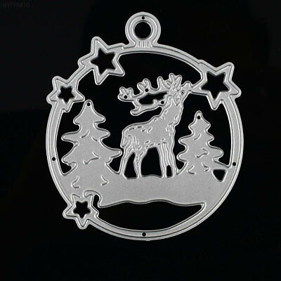 F0CD Durable Cutting Dies Embossing Card DIY Carbon Steel Christmas Deer Toy