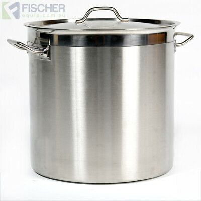 """brand New"" 36L Commercial 18/10 Stainless Steel Stock Pot Cookware Sp-36"