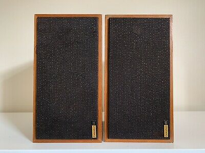 Vintage CELESTION Ditton 10 HI FI Stereo Speakers Nice Condition Woodgrain