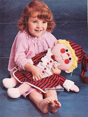 VINTAGE TOY DOLL / PYJAMA CASE - COPY  toy sewing pattern