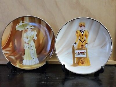 Collectable Avon President's Club Plates 2012/2013 & 2013/2014