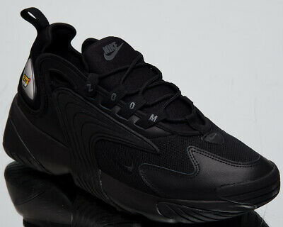 4809ede4396d Nike Zoom 2K Men s New Triple Black Shoes Casual Lifestyle Sneakers AO0269 -002
