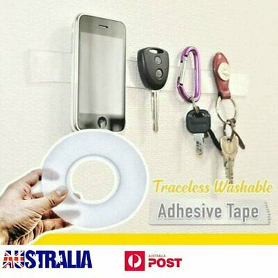AU Multifunctional Double-Sided Adhesive Tape Traceless Washable Removable FO