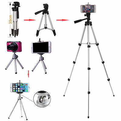 360° Stretchable Phone Camera Tripod Stand Mount Holder Video For Most Phone UK