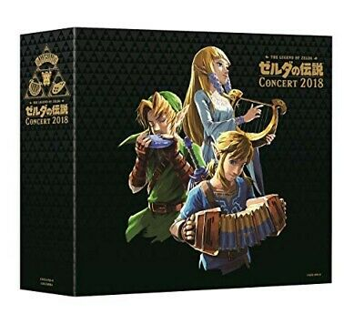 The Legend of Zelda Concert 2018 Limited edition CD+Blu-ray Free Shipping