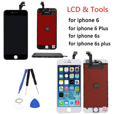 Screen Digitizer For iPhone 6S 6 Plus LCD Touch Replacement Assembly +Genuine IC