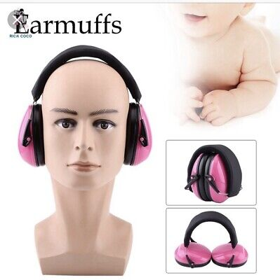 Baby Pink Sound Protective Ear Defenders Autism ASD hypersensitive 0-3 Months