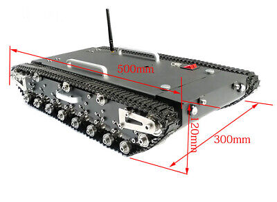 WT-500S 30Kg Load Smart RC Robotic Tracked Tank RC Robot Car Base Chassis buy-sz