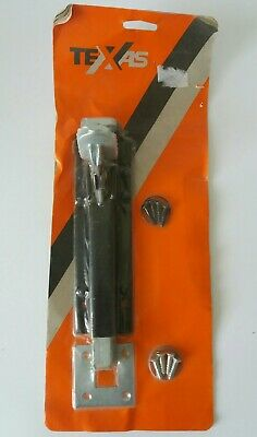 "8"" INCH FOOT BOLT for Garage or Shed Doors, NOS still in packaging"