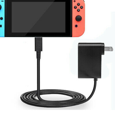 For Nintendo Switch Home Travel Wall Charger AC Adapter US/EU Plug Power Supply