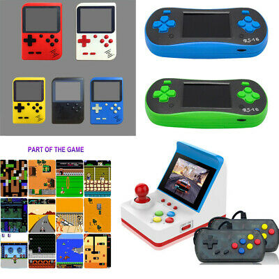 Mini Vintage Retro Game Console Classic 360 Built-in Games 2 Gamepad Kid Gifts