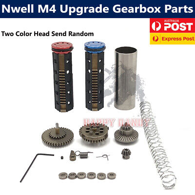 NWell M4 Upgrade Metal Gearbox Parts for Gel Ball Blaster Jinming JM M4 M4A1 Mod
