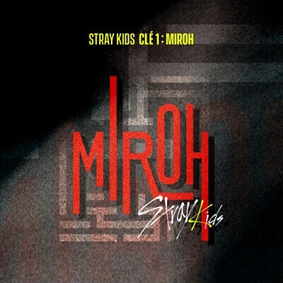 STRAY KIDS [CLE 1:MIROH] Album NORMAL 2 Ver SET+2p POSTER+2Buch+6Karte+1PreOrder