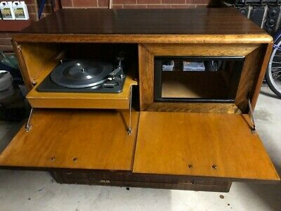 Vintage Record Player and Valve Radio - Great Restoration Project