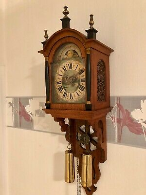 A Magnificent Original High Quality Dutch Amsterdam Ship Wall Clock