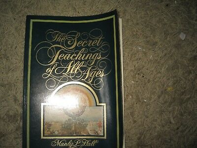 "The Secret Teachings of All Ages by Manly P. Hall (Paperback, 1995 9"" by 13"""