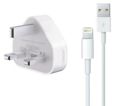 100% Genuine CE Charger Plug USB Sync Cable for Apple iPhone 8 7 6 5 Plus iPad,.