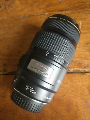 Canon EF  75-300mm F/4-5.6 IS  Zoom Lens Stabilizer