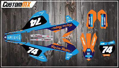 KTM SX85 Full Graphics Kit 2003-2012 2013-2017 2018-2019 SX 85 Decals Stickers