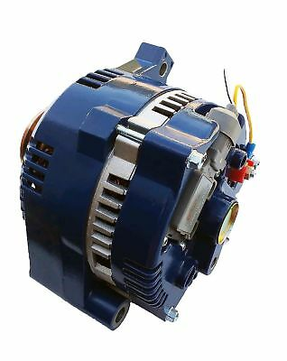 Alternator For Ford Mustang one wire blue 1-Wire HI Output 250 Amps 1965-1996