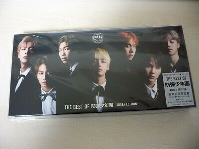 BTS THE BEST OF BTS Deluxe Limited Edition KOREA EDITION CD+DVD+Photo Set