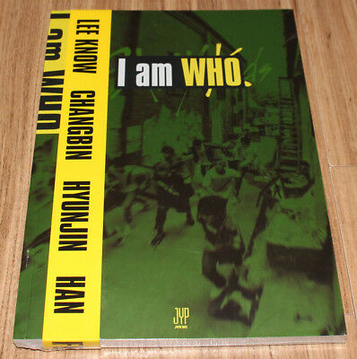 STRAY KIDS I am Who 2nd Mini Album WHO Ver. CD + 3 PHOTOCARD + POSTER IN TUBE