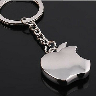 New Apple logo Metal Key Chain  Apple Keychain Key Ring