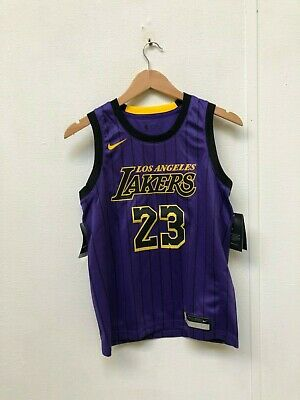 20f50eab6cb NIKE KID'S NBA LA Lakers City Jersey - 14-16 Years - James 23 ...