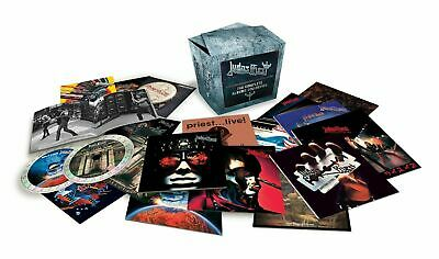 Judas Priest The Complete Albums Collection New 19 Cd Boxset New Sealed
