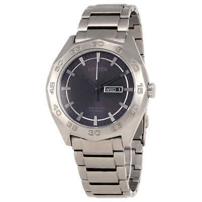 Citizen Super Titanium Grey Dial Men's Watch AW0060-54H