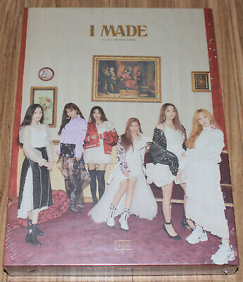 (G)-IDLE (G)I-DLE I made 2nd Mini Album K-POP CD + PHOTO CARD + POSTER IN TUBE