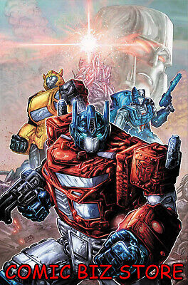 Transformers #1 (2019) 1St Printing Scarce Williams Ii 1:25 Ri Variant Cover Idw