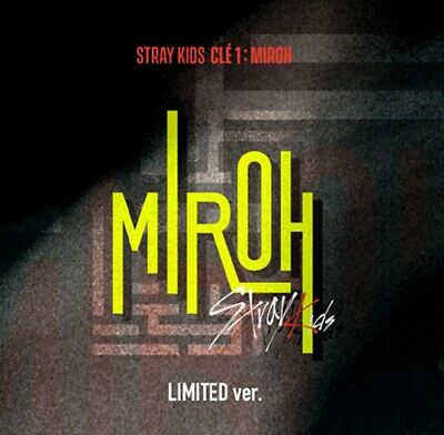 Stray Kids - Mini Album [Clé 1 : MIROH] LIMITED Version All Full Package, SEALED