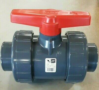 SPEARS 3622-025 TU 2000 2-1/2' PVC Standard Ball Valve Socket EPDM O-RING 150PSI