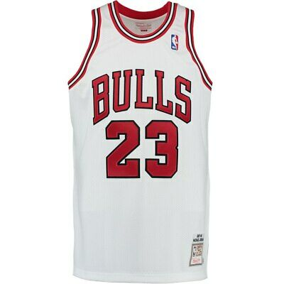 38271f432b9e Mitchell   Ness Michael Jordan 23 Chicago Bulls 97-98 Authentic Jersey White