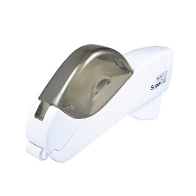Rapesco SupaCut Tape Dispenser White 1445