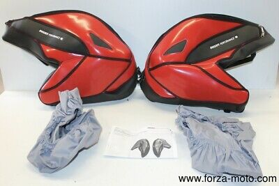 Ducati Performance Front tank bags RED Hypermotard 796 1100 96759508B